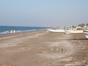 Fishing boats close to the Training Center