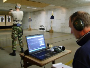 testing EEG in an Special Forces operator