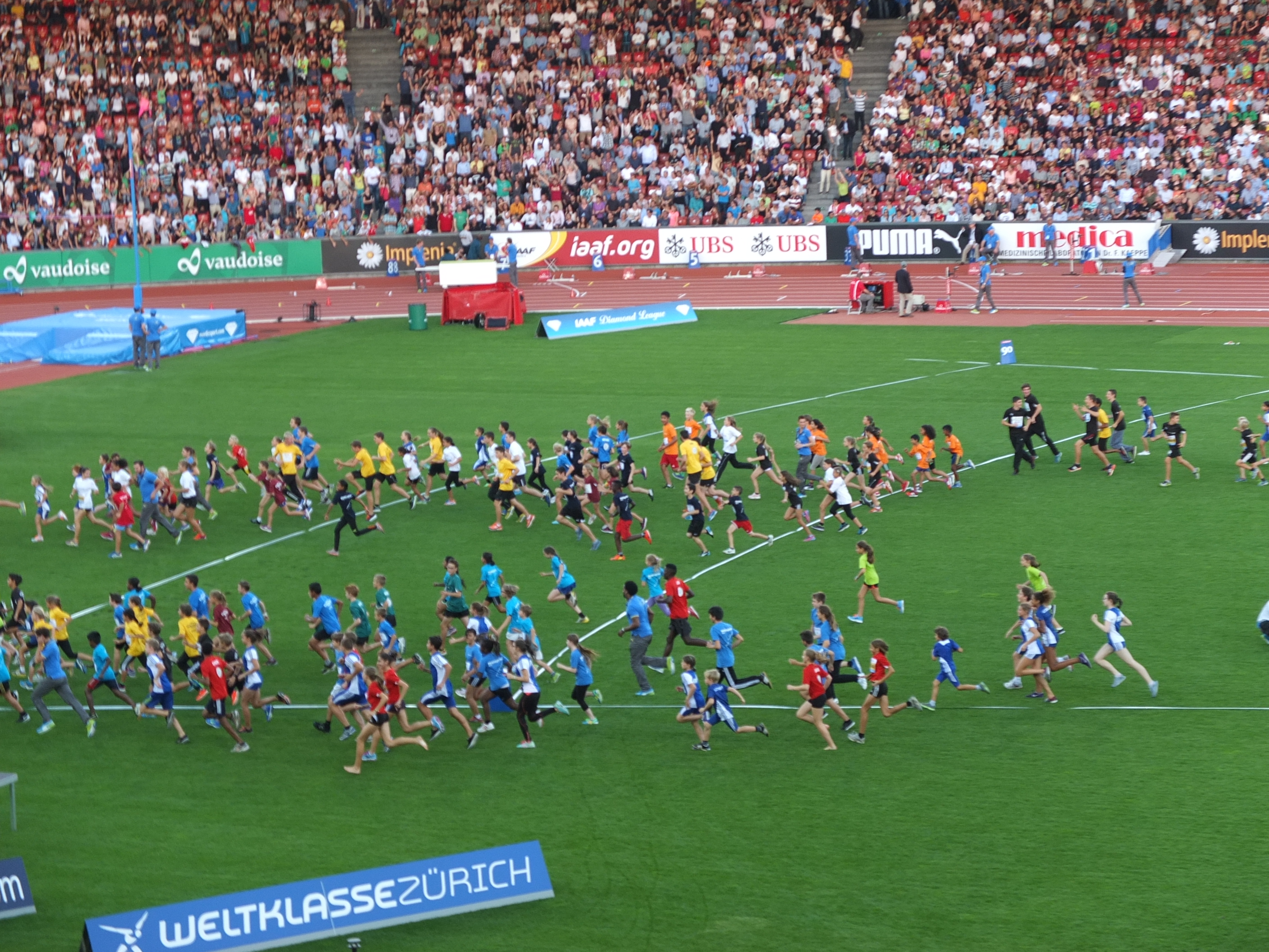 Kids at Weltklasse Zurich