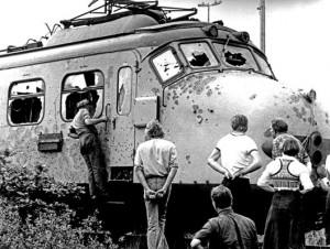 After the hijacking of the train at the Punt, 1977