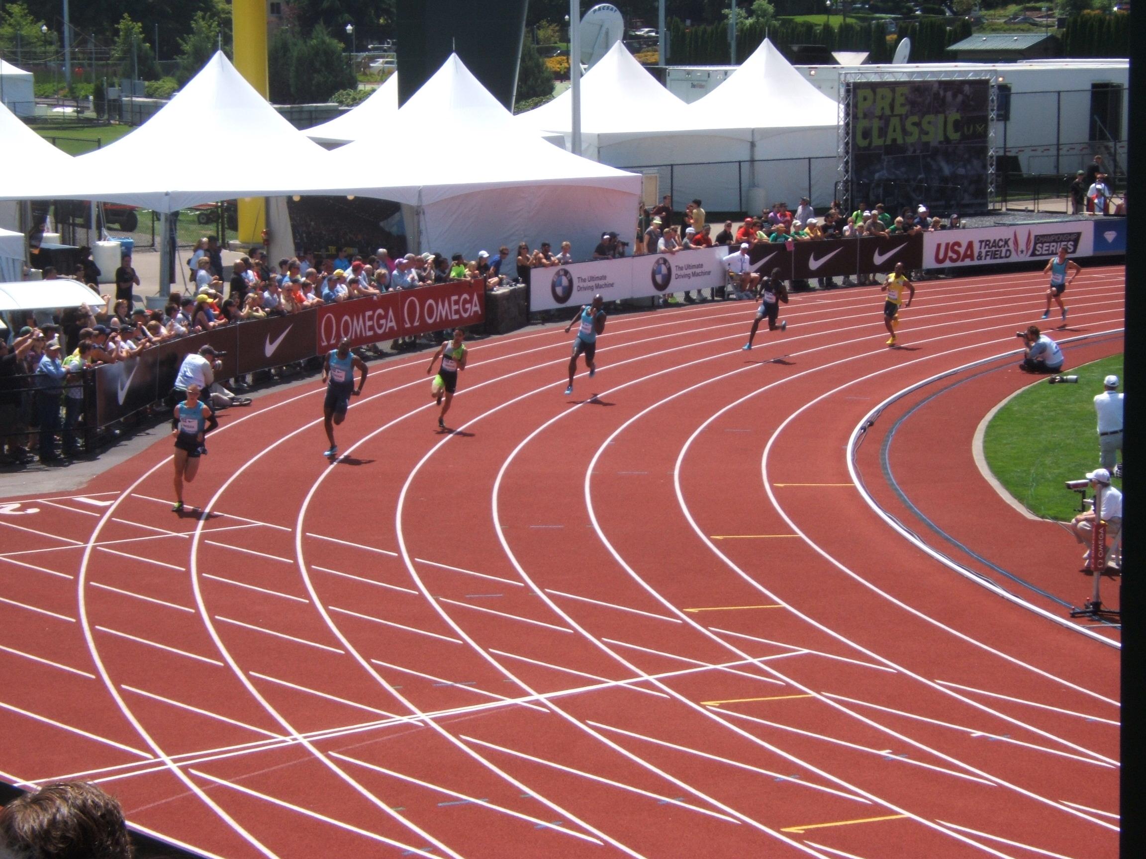 Eugene 400m men
